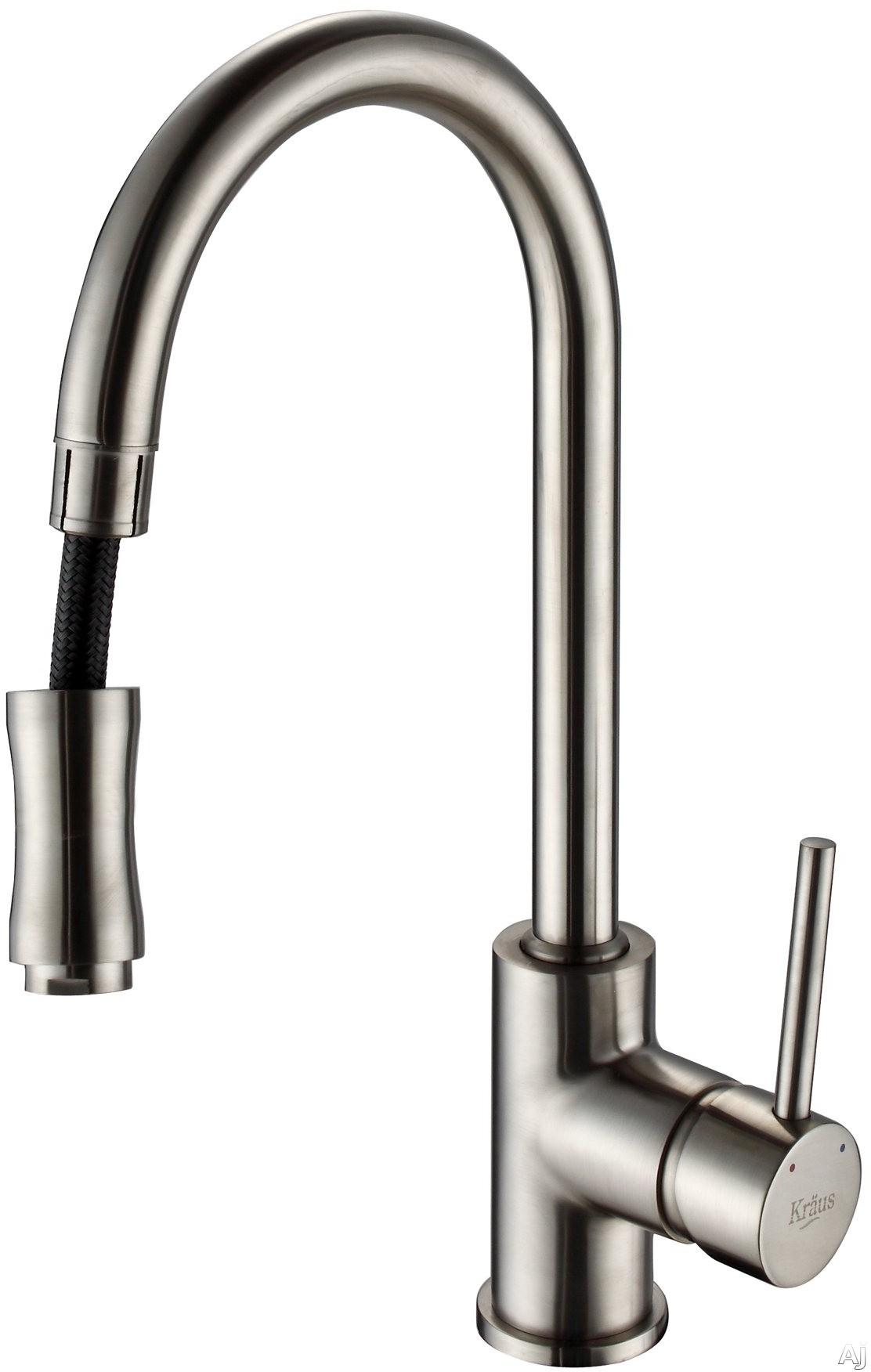 Kraus Kpf1622ksd30sn Single Lever Pull Out Kitchen Faucet