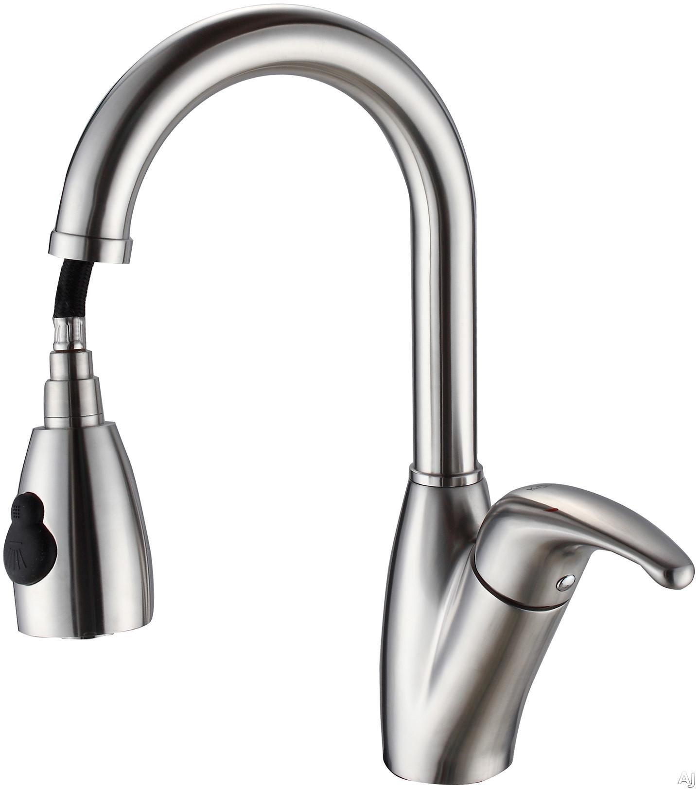 kitchen faucet head kraus kpf2121sd20 single lever pull