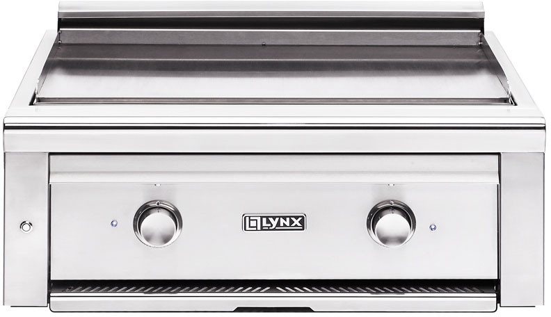 Lynx Asado Series L30AGNG 30 Inch Built-In Gas Grill with Two Independent Burners, 525 sq. in. cooking surface, Simple Knob Control and 304 Stainless Steel Construction: Natural Gas