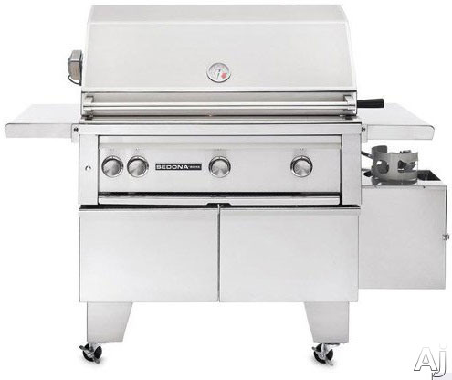 Lynx Sedona Series L600ADARNG 56 Inch Freestanding Gas Grill with 733 sq. in. Cooking Surface, 69,000 Total BTUs, ProSear Burner, Rotisserie Burner, ADA Compliant and Halogen Surface Lighting: Natural Gas