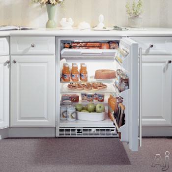 "Marvel 61RFBSFL 24"" Refrigerator / Freezer with 5.3 cu. ft. Refrigerator Capacity, 2 Removable, U.S. & Canada 61RFBSFL"