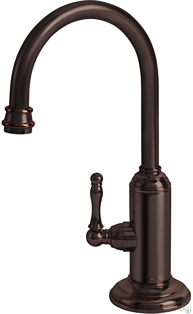 Image of Franke Farmhouse Series LB12160 Little Butler® Hot Water Filtered Faucet with Durable Brass Construction, Spout Swivels 360° and Low Lead Compliant: Old World Bronze