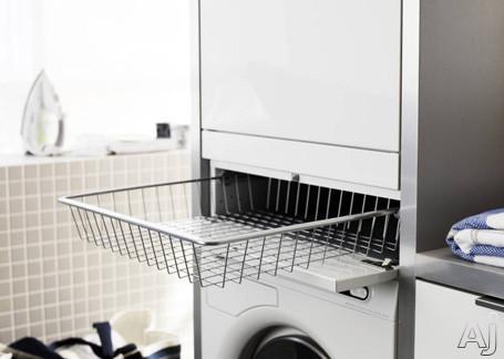 Asko HiddenHelper Series HB115W Pull Out Laundry Care Utility Basket: White, U.S. & Canada HB115W