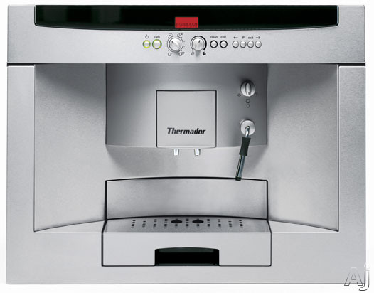 Thermador BICM24CS 24 Inch Built in Coffee System with LCD Display Frothing Aid and Coffee Customization