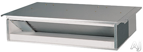LG Multi F Series LDN127HV4 12,000 BTU Concealed Duct Indoor Ceiling Air Conditioner with 13,800 BTU Heating Capacity, 2 Thermistor Control, Internal Condensate Pump, Auto Operation, Auto Restart, Control Lock Function, Inverter(Variable Speed Fan) and