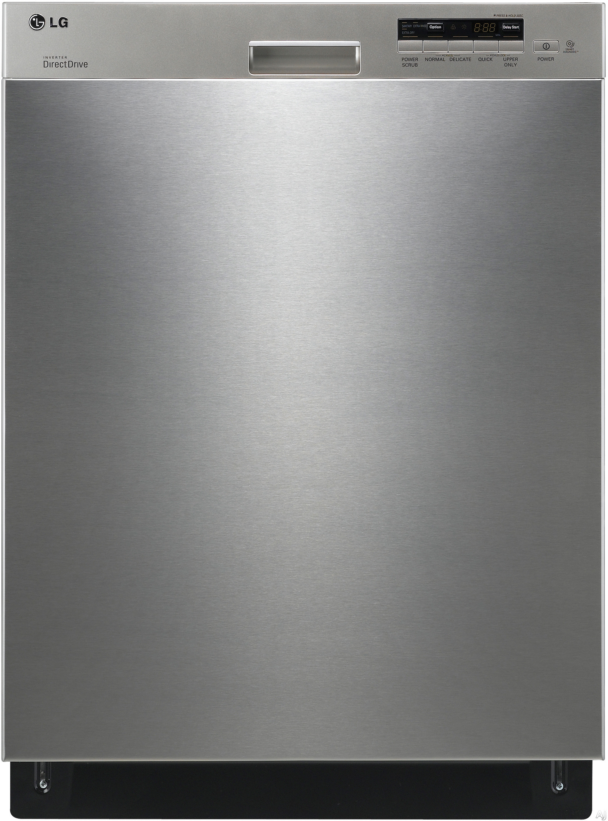 Countertop Dishwasher Lg : LG LDS5040ST Semi-Integrated Dishwasher with 5 Wash Cycles, 2 Spray ...