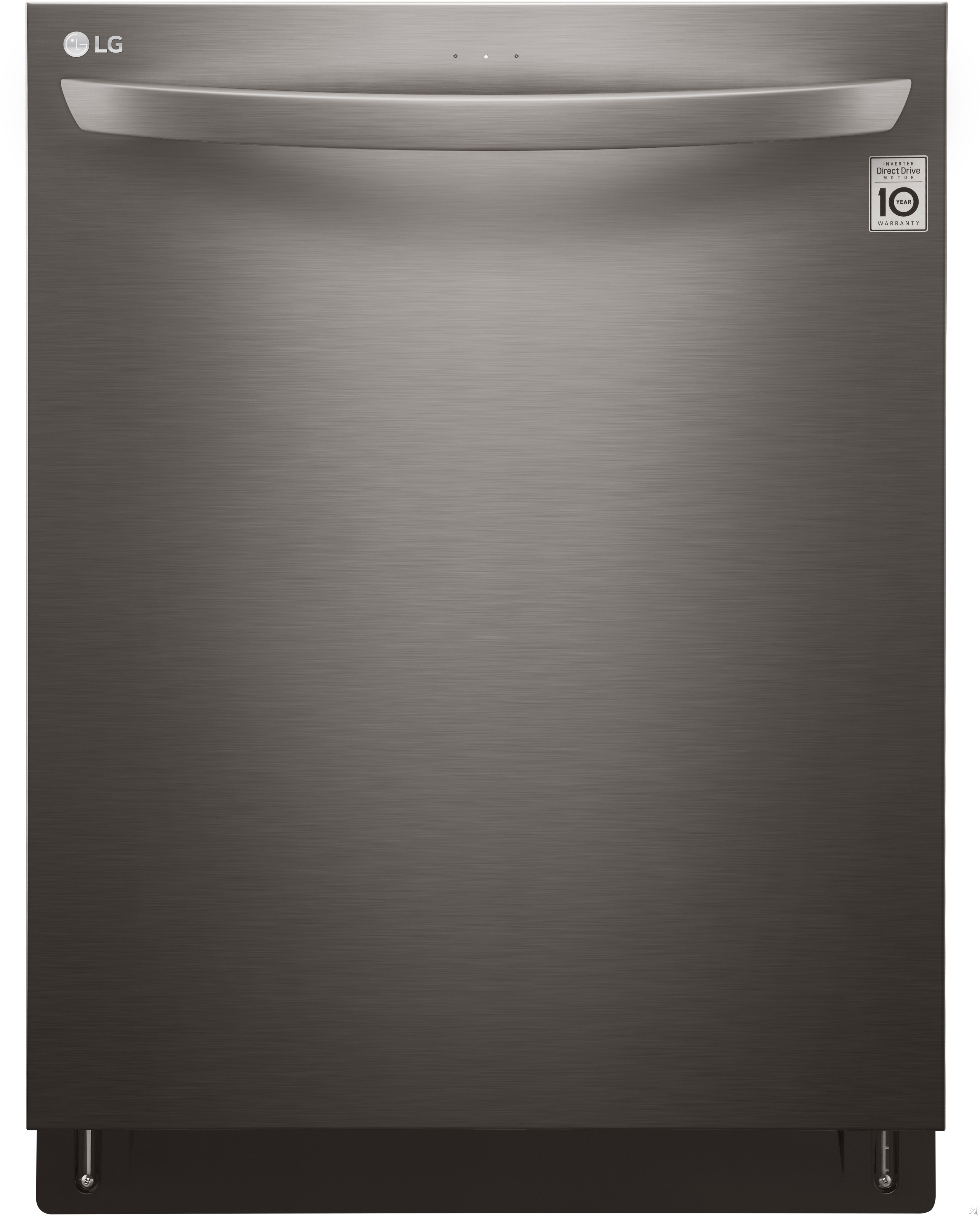 LG LDT5665BD 24 Inch Fully Integrated QuadWash™ Dishwasher with SmartThinQ® Technology, NeveRust™ Stainless Steel Tub, EasyRack™ System, 15 Place Setting Capacity, 9 Wash Cycles, 46 dBA LoDecibel™ Operation and ENERGY STAR®: Black Stainless Ste
