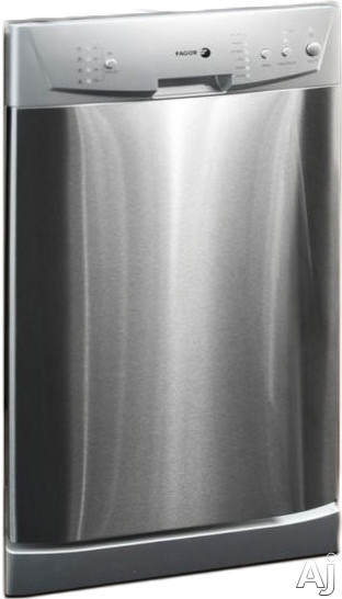 Fagor LFA45X Fully Integrated Dishwasher with 8-Place Settings, 6 Wash Cycles, Time Delay, End of Cycle Signal, Error Alarm, Stainless Steel Tub, Rinse Aid Warning Indicator, Silence Rating of 55 dBA, ADA Compliant and Energy Star Rated