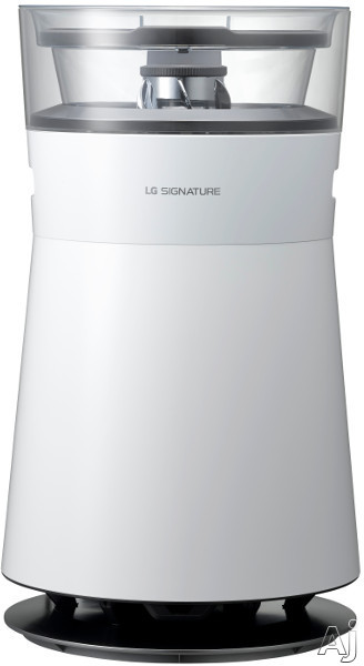 LG Signature Series AM501YWM1 318 sq. ft. All-in-One Air Purifier and Humidifier with SmartThinQ®, Watering System, Rain View Mirror, UV LED and Smart Drying, 4 Fan Modes, 4 Sleep Modes, Smart Indicator and Lighting, Trickle Watering, Odor and Dust Sens