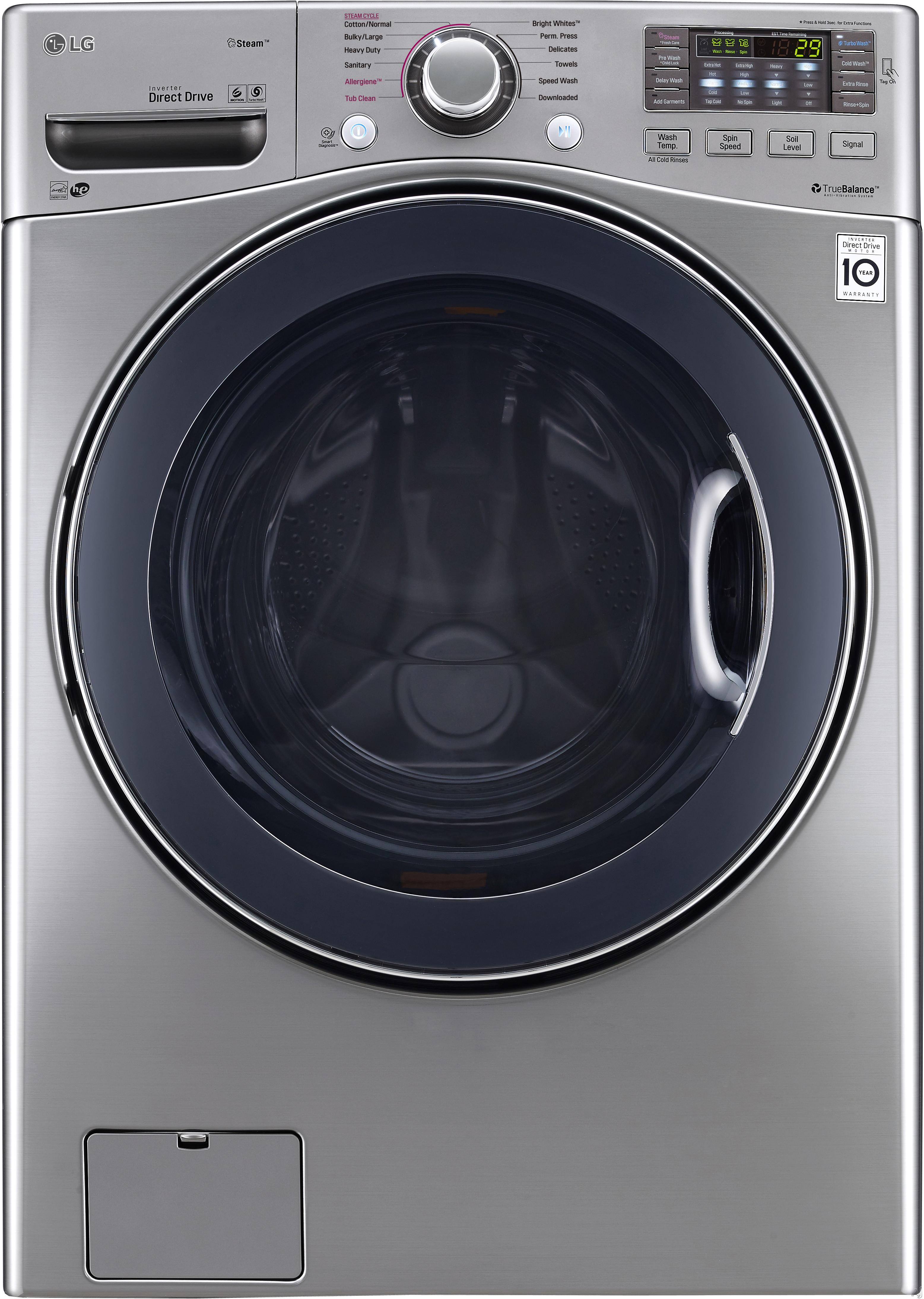 LG Laundry,LG Washers,LG Front Load (Tumble)