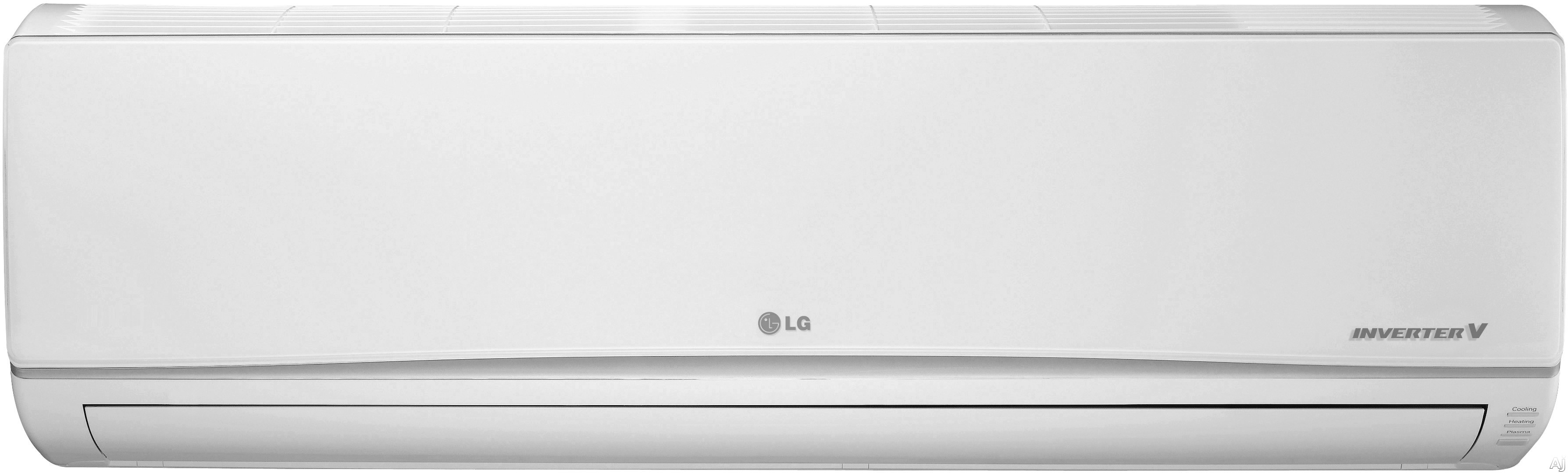 LG LG24KB2K61 3 Room Mini Split System with Heat Pump, Heat Pump, Inverter (Variable Speed Compressor), Low Ambient Operation, R-410A Refrigerant, Auto Restart, Auto Operation, Self-Diagnosis, Defrost/Deicing and Gold Fin Anti-corrosion LG24KB2K61