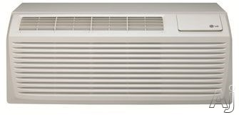 LG LP093HDUC 9,000 BTU Packaged Terminal Air Conditioner with Heat Pump, Energy Saver, Auto Restart, Freeze Protection, GoldFin Anti-Corrosion, 270 CFM, 12.9 EER, 2.6 Pts/Hr Dehumidification and 230/208V