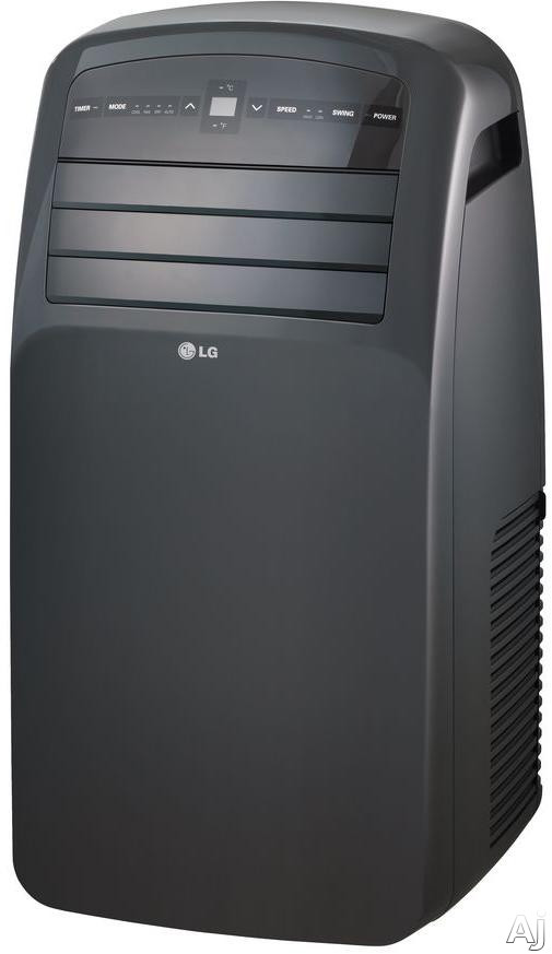 LG LP1215GXR 12,000 BTU Portable Air Conditioner with Digital Temperature Control, LED Display, Auto Restart, 1.2 Pts/Hr Dehumidification and Energy Saver Mode