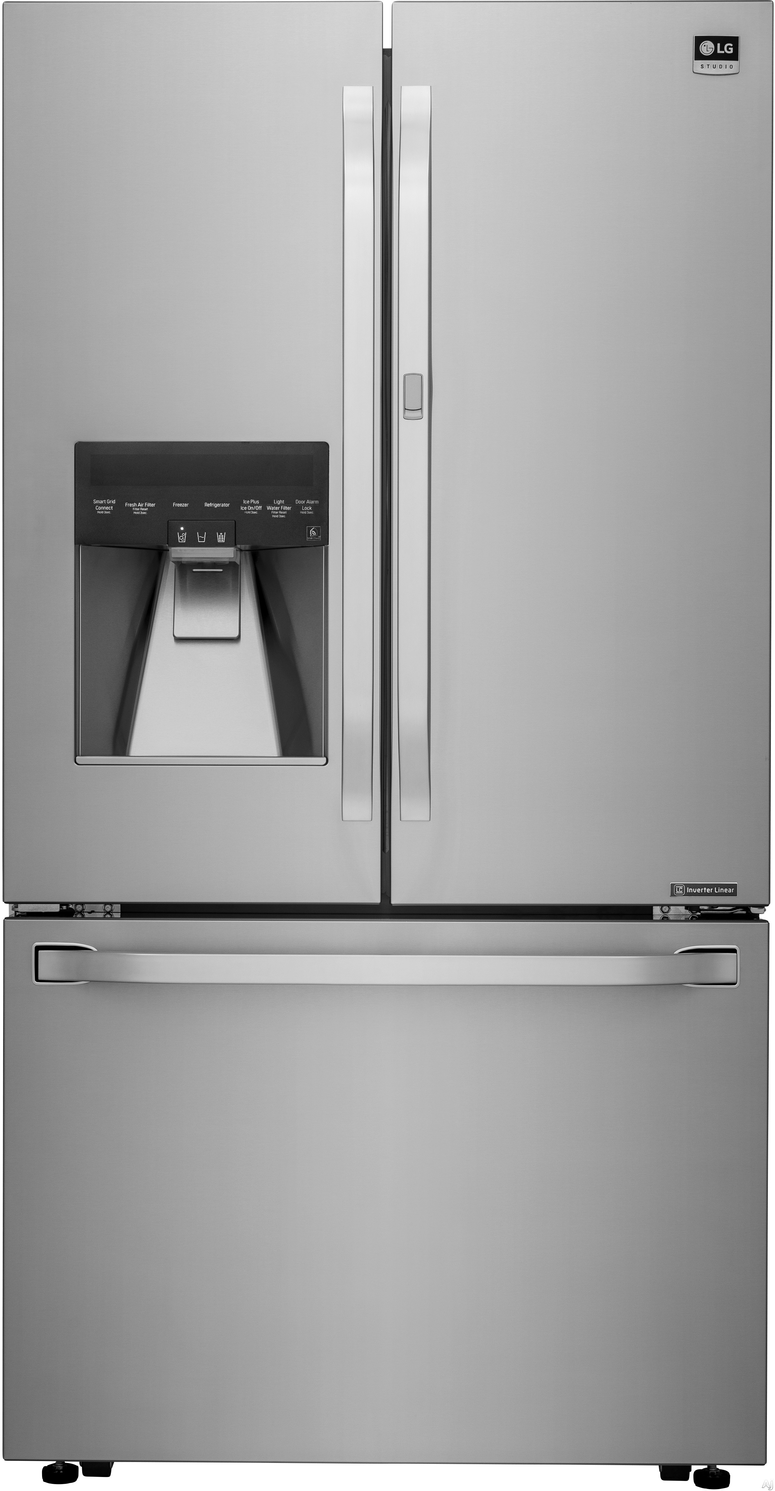 Lg Lsfxc2476s 23 5 Cu Ft Counter Depth French Door
