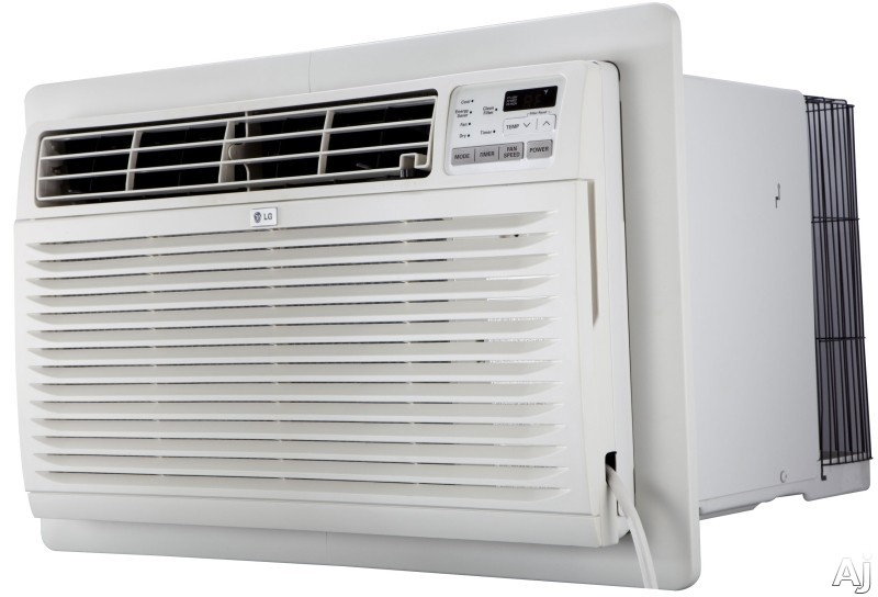 LG LT1237HNR 11,500 BTU Thru-the-Wall Air Conditioner with 11,200 Heating BTU, 24 Hour Timer Energy Saver, Gold Fin Anti-Corrosion, Wireless Remote, 9.8 EER, 3.2 Pts/Hr Dehumidification and 230/208V LT1237HNR