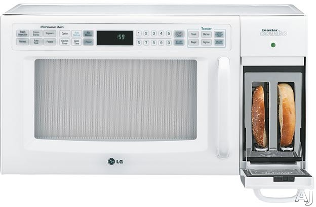 Lg Ltrm1240sw Microwave Toaster Oven With 9 Browning