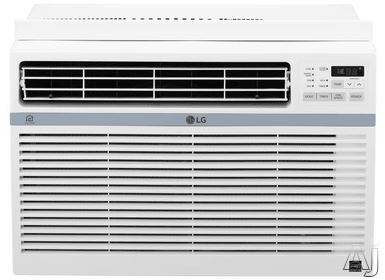 LG LW1217ERSM 12,000 BTU Window Air Conditioner with Wi-Fi, 24 Hour Timer, Auto Restart, 3 Fan Speeds, Wireless Remote, 12.1 EER, 3.8 Pts/Hr Dehumidification, Energy Star Rated and 115V LW1217ERSM