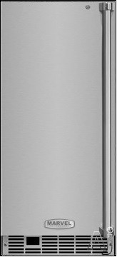 Marvel Professional Series MP15CPX2 15 Inch Counterdepth Clear Ice Maker with 39.83 Lbs. Daily Ice Production, 35 Lbs. Storage Capacity, Factory Installed Pump, Sapphire Illuminice LED Lighting, Close Door Assist System, Ultra-Quiet Operation and Intuit T