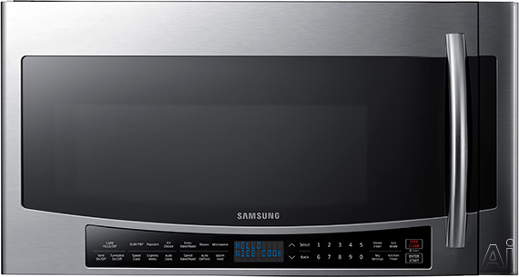 Samsung Mc17j8000cs 1 7 Cu  Ft  Over
