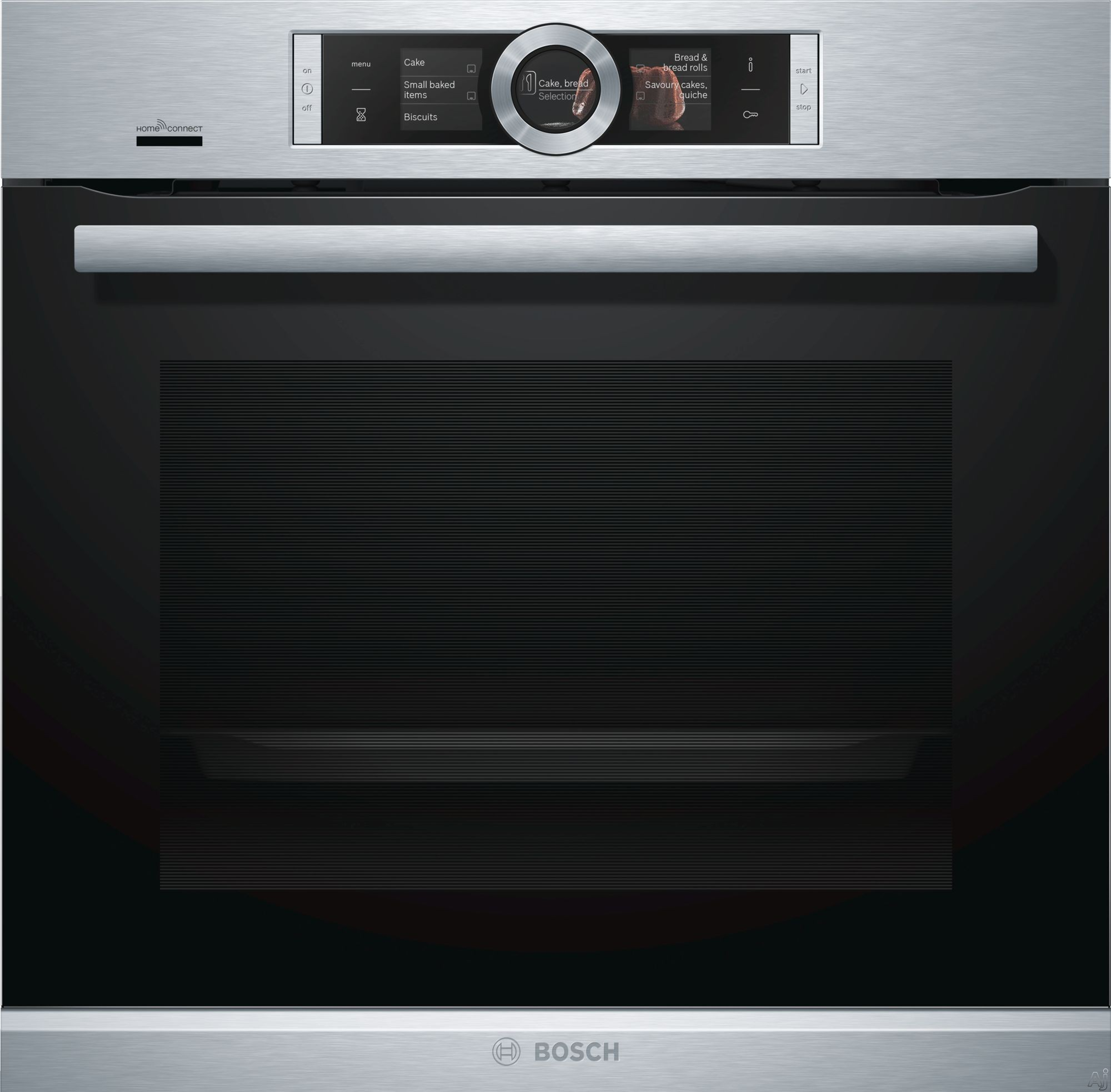 Bosch 500 Series Hbe5452uc 24 Inch Single Electric Wall Oven With Home Connect