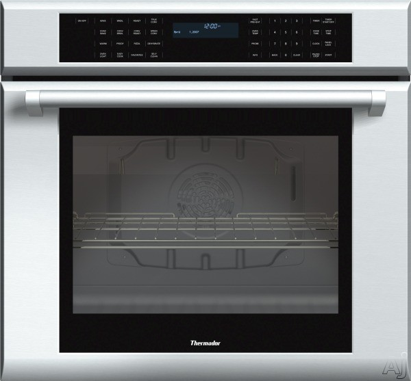 Thermador Masterpiece Series ME301JP 30 Inch Single Electric Wall Oven with 4.7 cu. ft. True Convection Oven, Self-Clean, 13 Cooking Modes, Temperature Probe, Halogen Lighting, Star-K Certified Sabbat