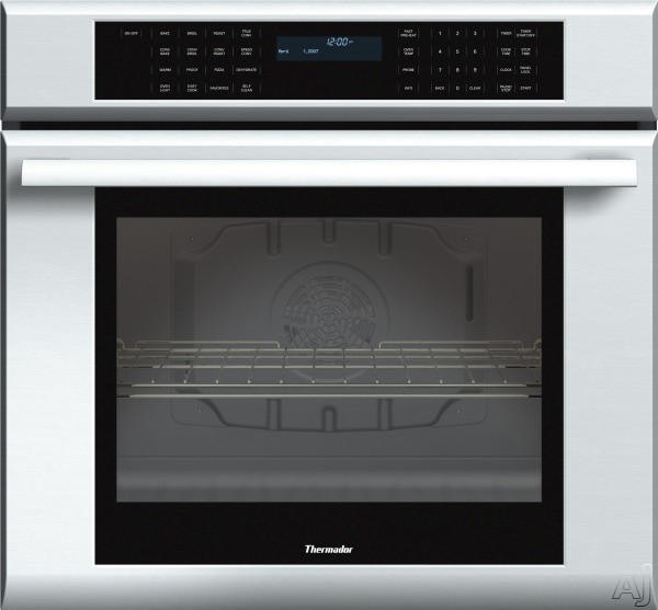 Thermador Masterpiece Series ME301JS 30 Inch Single Electric Wall Oven with 4.7 cu. ft. True Convection Oven, Self-Clean, 13 Cooking Modes, Temperature Probe, Halogen Lighting, Star-K Certified Sabbat