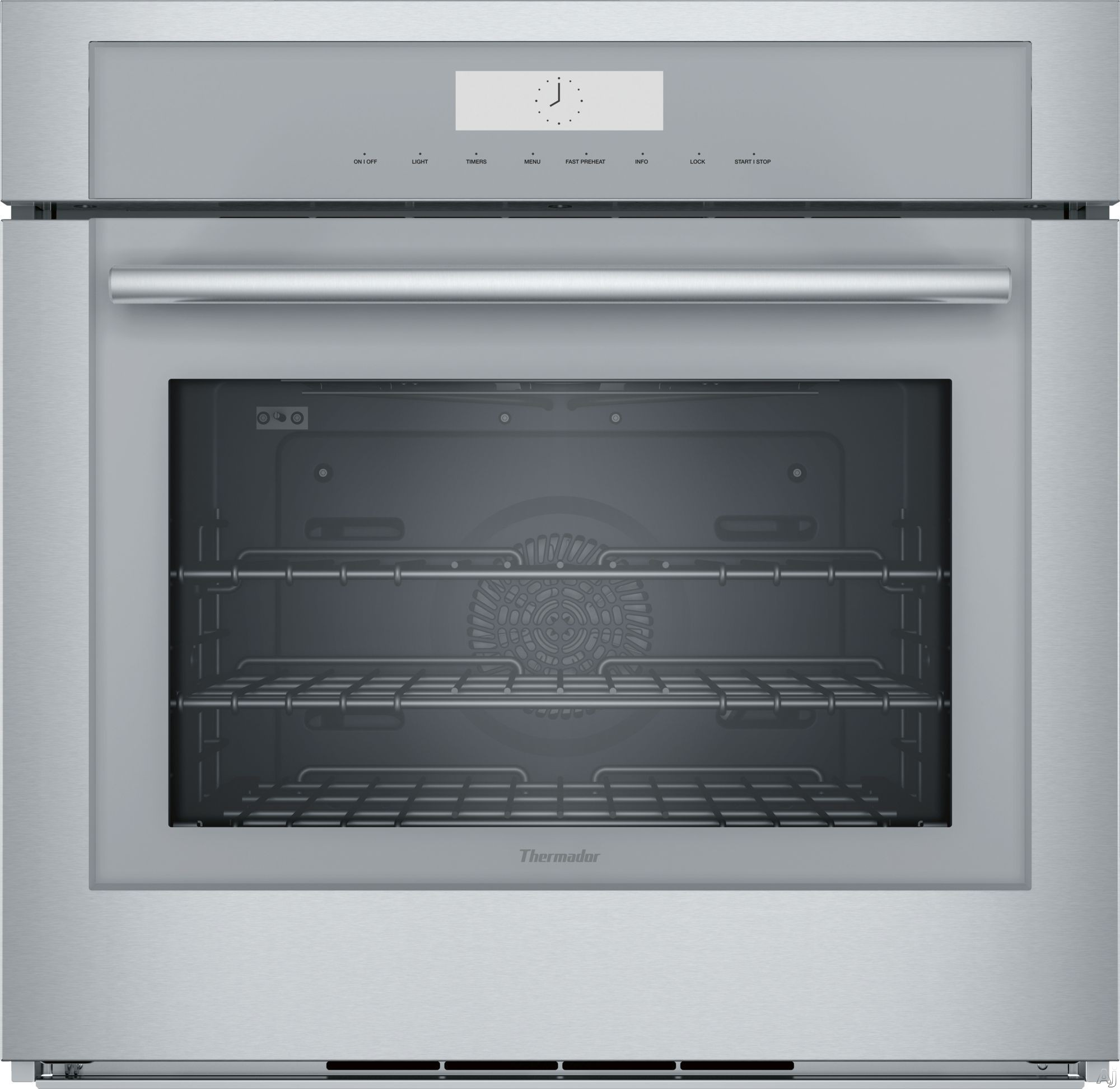 Thermador Masterpiece Series ME301WS 30 Inch Single Wall Oven with True Convection, 13 Heating Modes, Self-Clean, Hydraulic SoftClose® Hinges, Telescopic Rack, Halogen Light, Sabbath Mode and Wi-Fi