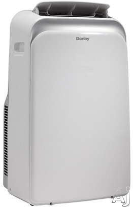 Danby DPA120B1WB 12,000 BTU Portable Air Conditioner with R410A Refrigerant, 50 Pint Capacity Dehumidifier, Automatic On/Off, LED Display, Remote Control, Handles and Castors DPA120B1WB