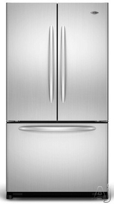 Maytag MFF2558VE 24.8 cu. ft. French Door Refrigerator with 5 Spill-Catcher Glass Shelves, Dual Cool, U.S. & Canada MFF2558VE