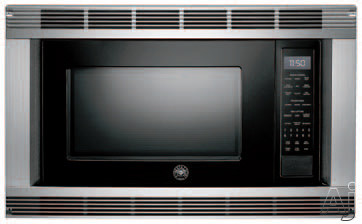 Bertazzoni mo30stane 24 inch built in microwave oven with for Built in microwave oven 24 inch