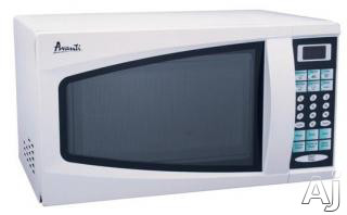 Avanti MO7180TW 0.7 cu. ft. Countertop Microwave oven with 700 Cooking Watts, 6 One-Touch Cooking Menus and 10 Power Levels: White