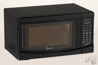 Avanti MO7192TB 0.7 cu. ft. Countertop Microwave oven with 700 Cooking Watts, 6 One-Touch Cooking Menus and 10 Power Levels