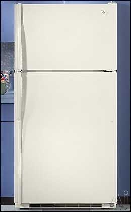 Maytag Mtb2156geq 21 Cu Ft Top Freezer Refrigerator W