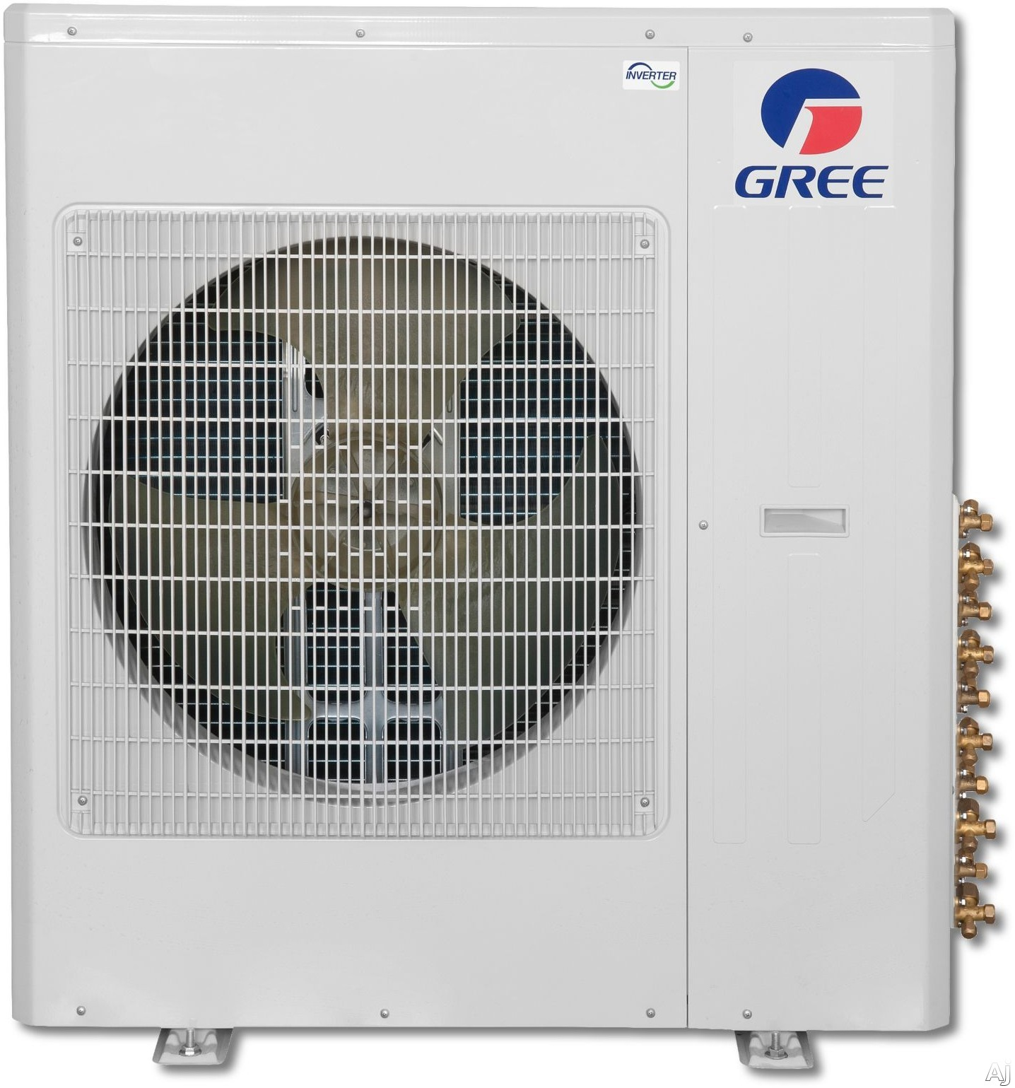 Gree Multi Series MULTI36HP230V1AO 34,000 BTU Multi-Zone Mini-Split Outdoor Air Conditioner with 35,800 BTU Heating Capacity, 2,177 CFM Air Flow, Low Ambient Operation, DC Inverter Technology, Intelligent Defrost, Gold Fin Coil Coating and Auto Restart M