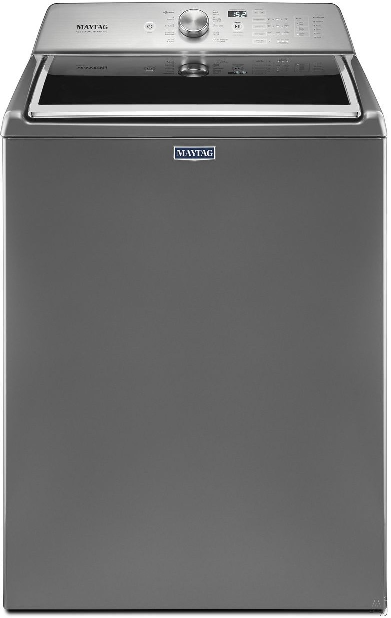 Maytag MVWB765F 28 Inch Top Load Washer with PowerWash® Cycle, Auto Sensing Option, Deep Fill Option, Rapid Wash Cycle, Stainless Steel Wash Basket, Sanitize Cycle with Oxi and 4.7 cu. ft. Capacity MVWB765F