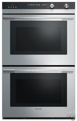 Fisher Paykel Selfcleaning Convection Double Electric Wall