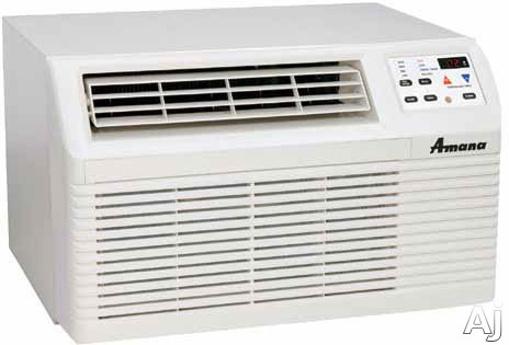 Picture of Amana PBC122G00CB 11800 BTU Thru-the-Wall Air Conditioner with 98 EER R-410A Refrigerant 34 PtsHr Dehumidification 2 Fan Speeds Slide-Out Filter and Remote Control