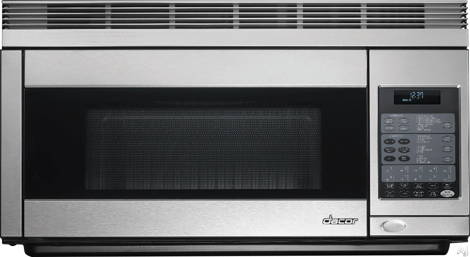 Dacor Discovery PCOR30 1.1 cu. ft. Over-the-Range Convection Microwave with 850 Watts, 300CFM Venting System, Convection Technology, Sensor Modes, Interactive Touchscreen Display and 2-Level Cooking Rack