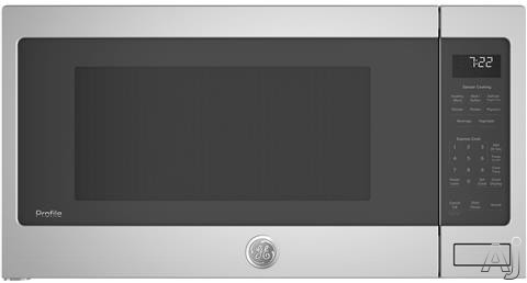 GE Profile PES7227SLSS 2.2 cu. ft. Countertop Microwave with Sensor Cooking, Weight Defrost, Time Defrost, Child Lock, Add 30 Seconds and ADA Compliant: Stainless Steel