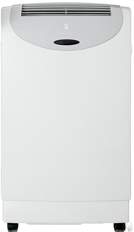 Friedrich ZoneAire Series PH14B 13,500 BTU Portable Air Conditioner with 10,700 BTU Heat Pump, Dehumidifier, 3 Speed Fan, 24-Hour Timer, Built-In Drain Pump and Remote Control