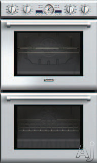 Thermador Professional Series PODC302J 30 Inch Double Electric Wall Oven with 4.7 cu. ft. True Convection Ovens, Self-Clean, 14 Cooking Modes, Rotisserie, Temperature Probe, 3 Telescopic Racks and Star-K Certified PODC302J