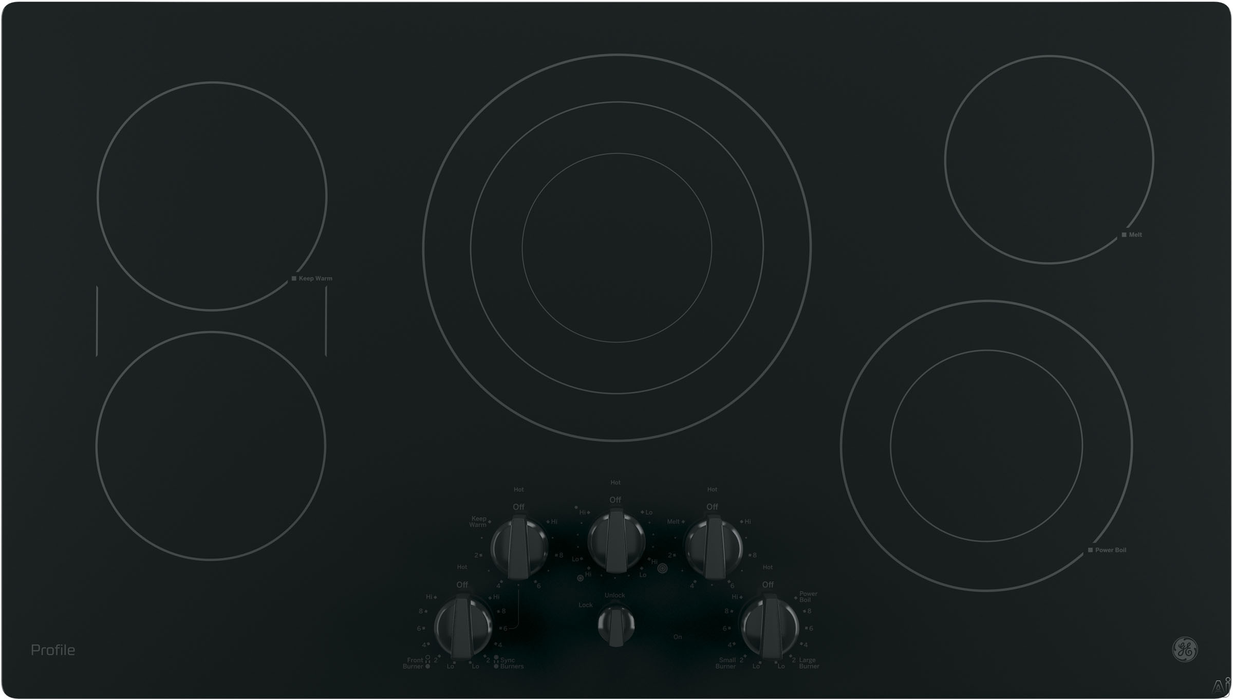 Ge Profile Cooktop Electric Usa