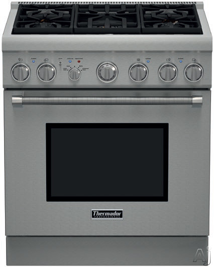how to clean thermador gas oven