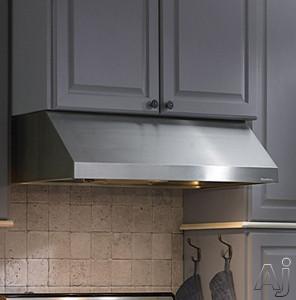 Vent-A-Hood Professional Series PRH9130SS Under Cabinet Range Hood with Internal Blower, 2-Level Halogen Lighting and Dishwasher Safe Filters: 30 Inch Wide/300 CFM Blower