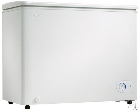 Danby DCF700W1 7.0 cu. ft. Chest Freezer with Manual Defrost, Vinyl Coated Basket, Up-Front, U.S. & Canada DCF700W1