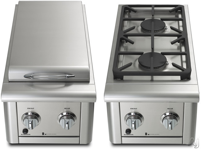 Capital PSQSB2000 Built-in 30,000 BTU Double Sideburner