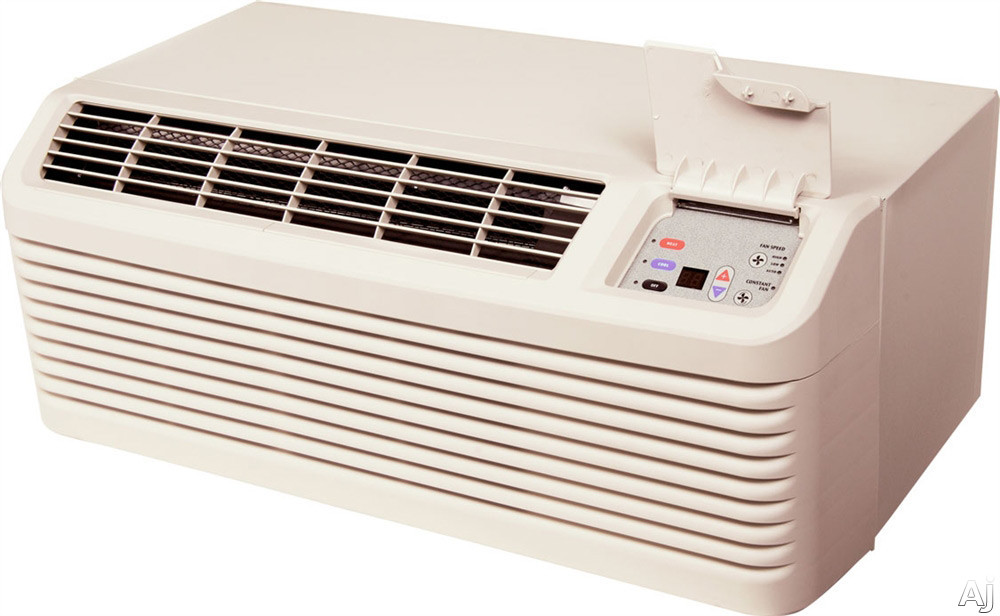 Amana DigiSmart PTC093G35AXXX 9,000 BTU Packaged Terminal Air Conditioner with 3.5 kW Electric Heater, R410A Refrigerant, 11.2 Energy Efficiency Ratio and DigiSmart Controls