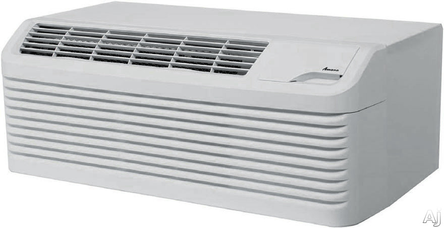Amana DigiSmart PTC093G25AXXX 9,000 BTU Packaged Terminal Air Conditioner with 2.5 kW Electric Heater, R410A Refrigerant, 11.2 Energy Efficiency Ratio and DigiSmart Controls