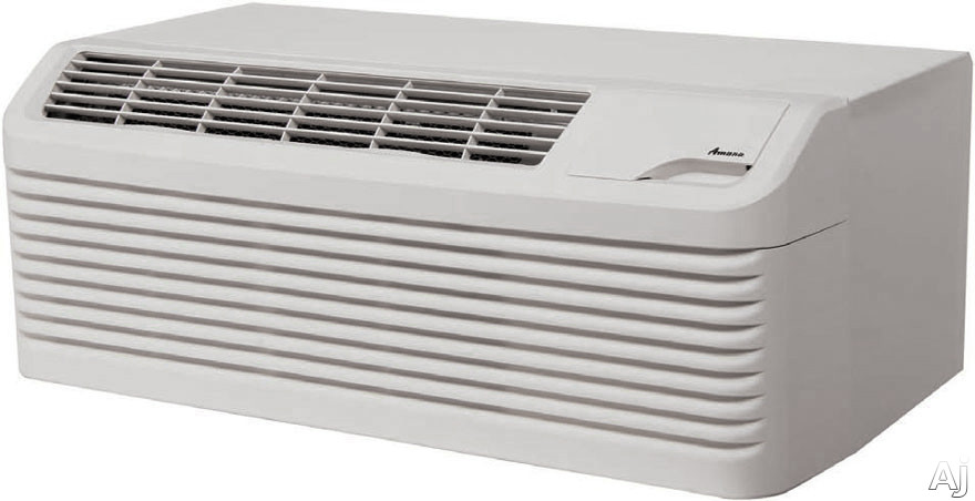 Amana DigiSmart PTC123G50CXXX 11,700 BTU Packaged Terminal Air Conditioner with 5.0 kW Electric Heater, R410A Refrigerant, 10.3 Energy Efficiency Ratio, DigiSmart Controls and Seacoast Corrosion Protection