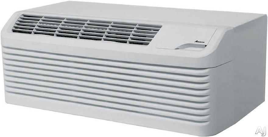 Amana DigiSmart PTC153G50AXXX 15,000 BTU Packaged Terminal Air Conditioner with 5.0 kW Electric Heater, R410A Refrigerant, 10.0 Energy Efficiency Ratio and DigiSmart Controls PTC153G50AXXX